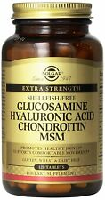 Glucosamine Hyaluronic Acid Chondroitin MSM, 120 Tabs - Solgar