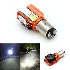 1x 20W 2000LM Motorcycle Headlight Bulb BA20D Led Headlamp DRL Light Hi/Lo Lamp