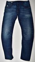 G-STAR RAW, Arc Zip 3D Slim W34 L34, Used Vintage Look Jeans Restored Indigo