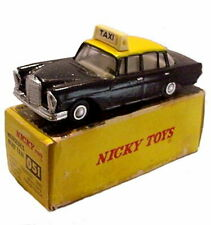 1950s Nicky Toys Model Car #051 Mercedes Benz Taxi in Box
