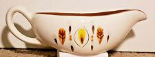 Vintage Stangl Pottery Amber Glo Gravy Boat
