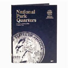 National Park Quarter Coin Holder Folder 2016-2021 Storage Book Whitman 2877 #2