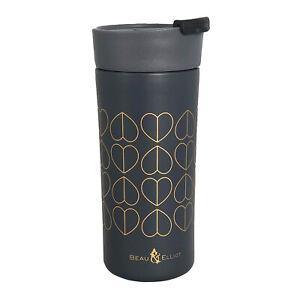 Beau & Elliot - Dove Grey Vacuum Insulated Stainless Steel Grande Travel Mug