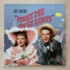 Meet Me in St. Louis (1944) NTSC Laserdisc ML101827