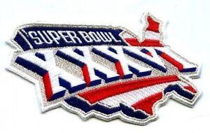 2/3/2002 CHAMPION GAME SUPER BOWL XXXVI SUPERBOWL 36 PATCH PATRIOTS RAMS PATCH