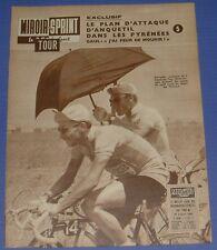 MIROIR SPRINT N°788 A 1961 CYCLISME TOUR FRANCE ANQUETIL DARRIGADE HUOT PAUWELS