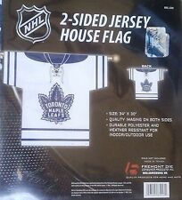 Toronto Maple Leafs 2-sided JERSEY House Outdoor Banner Flag NHL Hockey