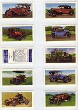 Full Set, Barratt (Bassett), Motor Cars, Vinatage & Modern 1968 EX (Gl250-361)