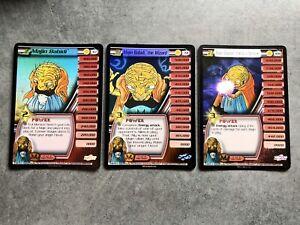 DBZ CCG Majin Babidi Personality Set 67 72 106 Dragonball Z Foil Cards