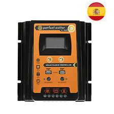 12V/24V 30A LCD MPPT Controlador de Carga Regulador Batería Panel Solar