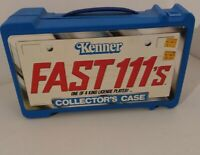 1980's Kenner FAST111's Collector's Case 12 Car Case nice sticker! VTG!