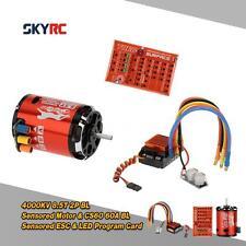 SkyRC 4000KV 8.5T 2P Motor&CS60 60A Sensored ESC&LED Program Card for Car Z0W5