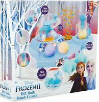 Disney Frozen 2 Bath Bomb Making Kit Set For Kids with Anna and Elsa