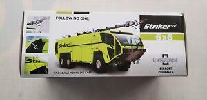 1/50 Scale OSHKOSH STRIKER 6X6 Airport Fire Truck Yellow Diecast Model Toy Gift