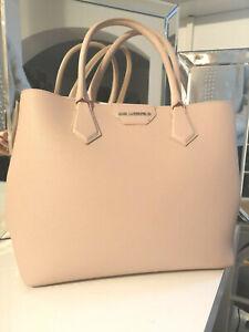 Karl Lagerfeld Damen Handtasche K/Shopper NEU rosa metallic gold Klassik