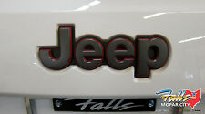 2014-2017 Jeep Grand Cherokee Trail Hawk Trailhawk Rear Liftgate Emblem Mopar