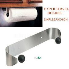 Rack Shelf Kitchen Paper Towel Holder Stainless Steel Under Cabinet Wall M P8US