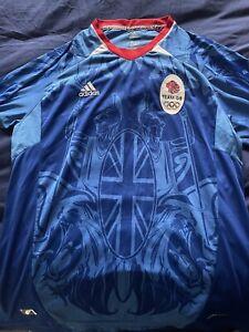Team GB London 2012 Olympics Mens Football Shirt - Large