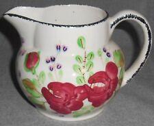 Blue Ridge ANTIQUE #2 Hand Painted ANNETTE'S WILD ROSE PITCHER Florals