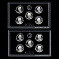 2016 2017 S America the Beautiful National Parks from Original Silver Proof Sets