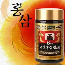 Korean 6 Years Red Ginseng Extract 365 Saponin Panax 240g ( 8.46oz ) x 1ea