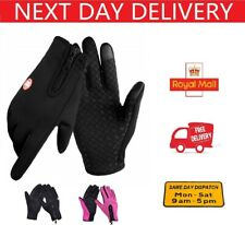 Winter Warm Gloves Touch Screen Waterproof Anti-slip for Driving Sports Cycling