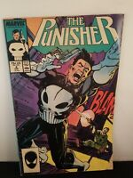 THE PUNISHER #4 Nov 1987 Marvel 1st Appearance of Microchip
