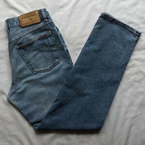 Marlboro Classics Rockies 103 Regular Straight Blue Men's Jeans W34 L34