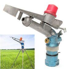 "1.3"" 360°Adjustable Impact Sprinkler Gun Water Irrigation Lawn Rain Spray Gun"