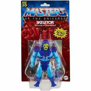 MASTERS OF THE UNIVERSE ORIGINS SKELETOR 5 1/2 INCH ACTION FIGURE MATTEL