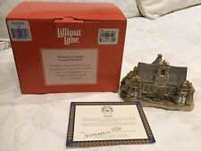 Lilliput Lane 'Village School' EUC In Box With Deed P/up Ringwood Nth 3134