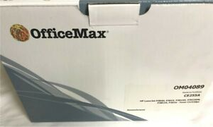 Office Max 0M04089 LaserJet Toner Cartridge, Replaces HP 55A (CE255A)