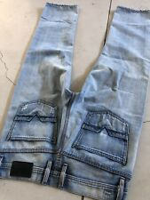 Diesel Roody 34x29 Distressed Jeans Viker Zatiny Blue Zathan VTG 33 Zaf Straight