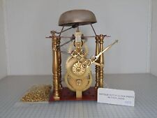OVERHAULED CLOCKWORK FRIESIAN TAIL CLOCK WITH ALARM