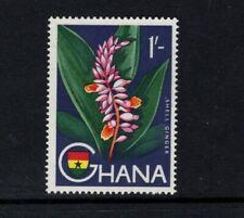 Ghana 1959 1s Shell Ginger Flowers MNH Sc 57 SG 222