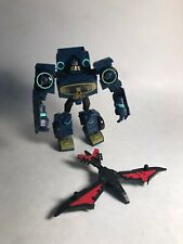 Transformers Animated SOUNDWAVE Complete Deluxe with LASERBEAK
