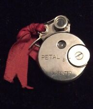 RARE-SAKURA SEIKI PETAL ROUND SUBMINIATURE CAMERA W/CASE & Original INSTRUCTIONS