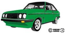 Ford Escort RS2000  MK 2 - 2Door - Green