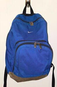 Vintage NIKE suede bottom backpack bag