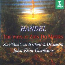 CD HANDEL - the ways of zion do mourn, Gardiner, Händel