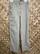 Kuhl Large 12 Girls Kliffside Khaki Convertible Cargo Pants