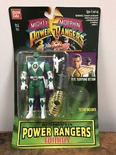 Mighty Morphin Power Rangers Tommy Tattoo Missing Green Carded