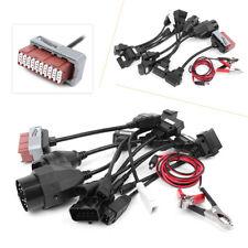 8pcs Car Cables OBD2 OBDII Connector For Delphi CDP Diagnostic ds150e O Black