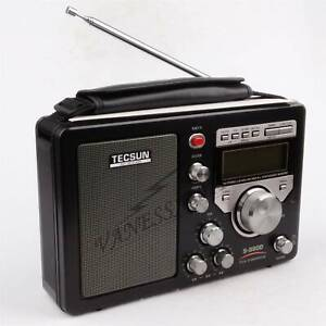 TECSUN DSP Triple Conversion AM/FM/LW/SW SSB NO BATTERY INCLUDED S-8800 PLL