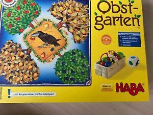 Obstgarten von HABA Made in Germany / Gepflegter Zustand / Komplett