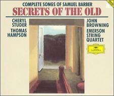 Secrets of the Old: Complete Songs of Samuel Barber (CD, May-1994, 2 Discs, Deut