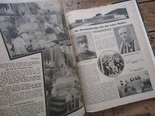 ALSACE JOURNAL DER SONNTAG CONGRES EUCHARISTIE STRASBOURG 1935 RELIURE PHOTOS