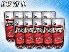 TORK BLUE SHOP MAX DISPOSABLE TOWELS - 450360 - 10 ROLLS - 60 SHEETS PER ROLL