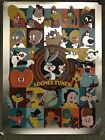 Looney Tunes Bugs Bunny Dave Perillo Foil Art Print Poster Mondo Cartoon Tv Show