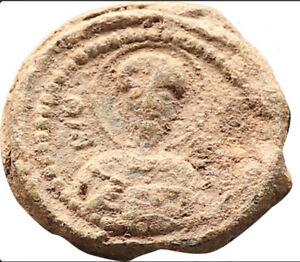 Byzantine Lead Seal Saint Nicholas 11th Century